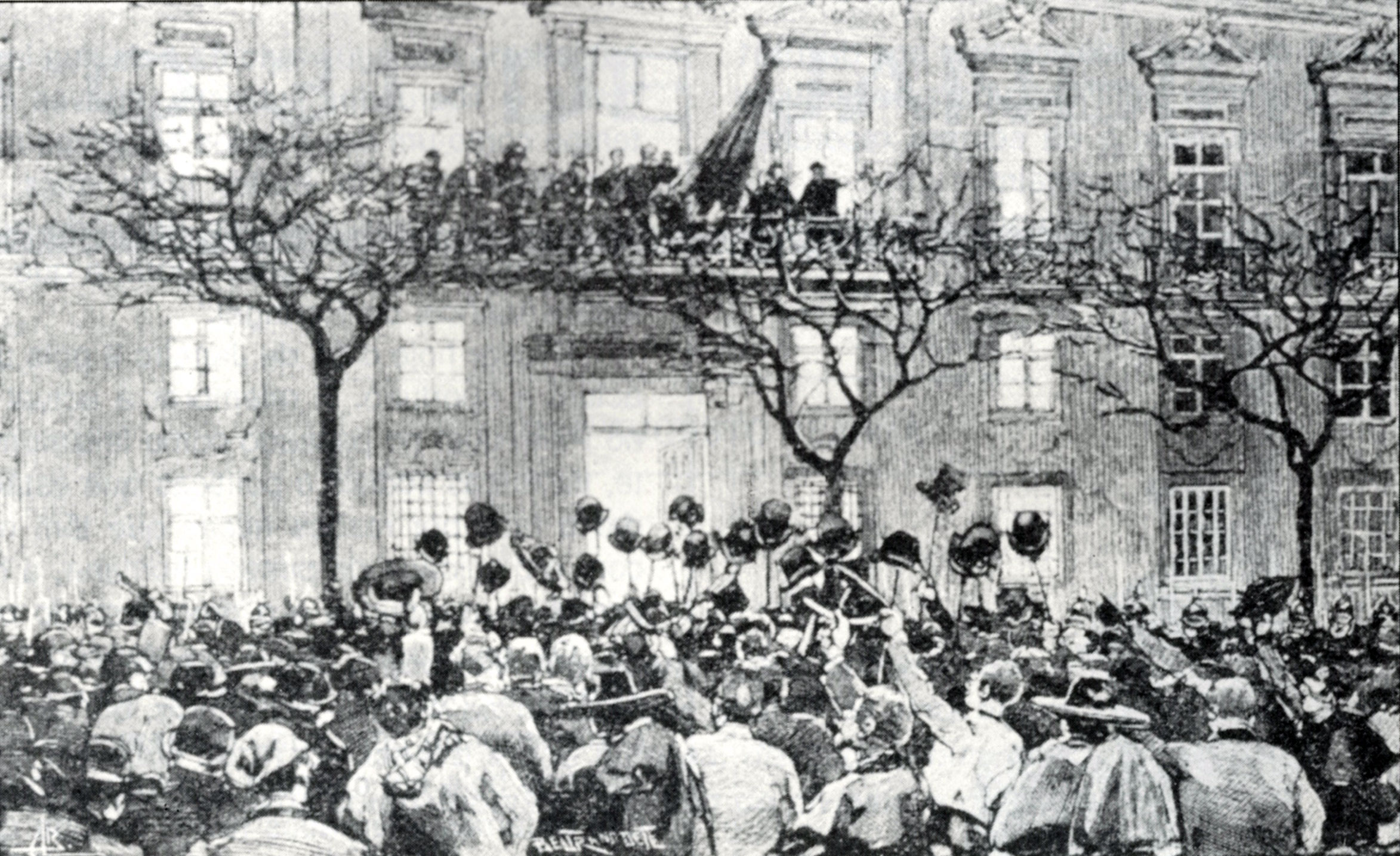 January 31, 1891 – A revolution that ended in bloodshed